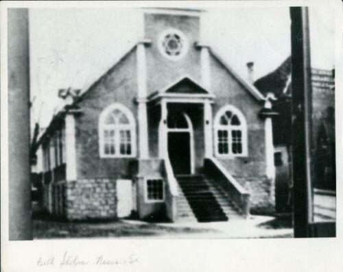 Beth Sholem Fort Rouge Congregation on 232 Nassau Street, c. 1920s