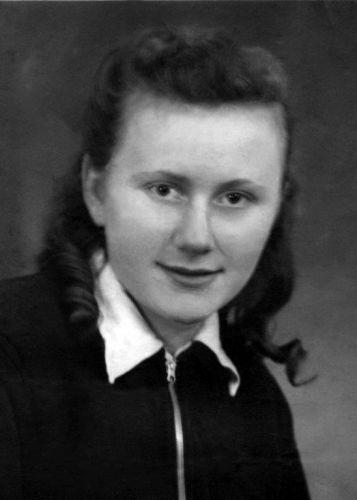 Edith Kimelman - embarking from Austria heading for Canada