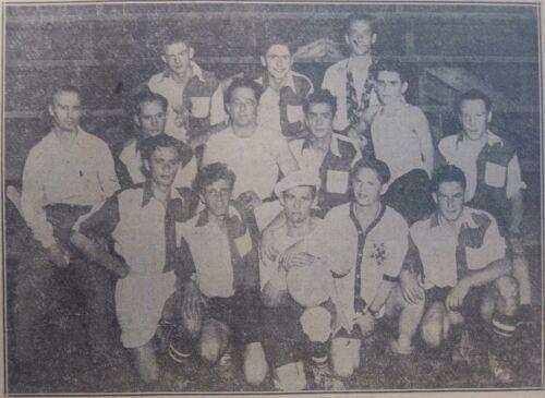 Hagibor Club soccer team of young survivors