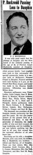 Jewish Post November 6 1952