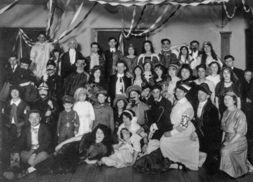 Purim party Fort William 1912