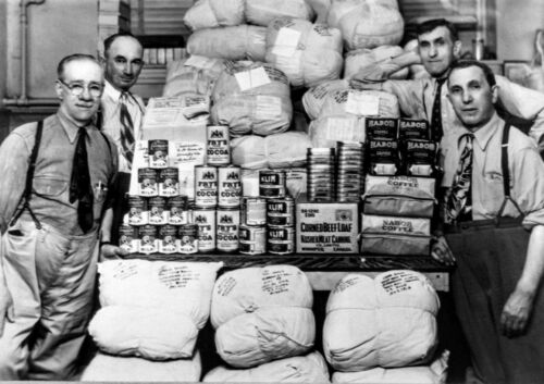 Shipment of food to the Soviet Union