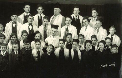 Talmud Torah Choir, 1930s
