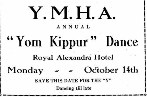 The Jewish Post November 8, 1929