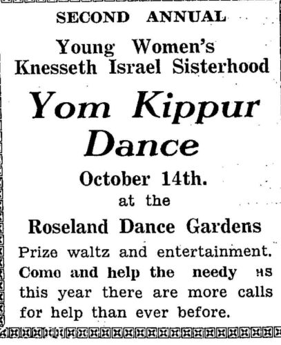 The Jewish Post October 11, 1929